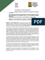 141019 COMUNICADO_Rocío Mesino_Un año de impunidad.pdf