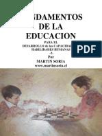 Fundamentos de la Educacion