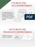 Exemple de Lecture de Specification