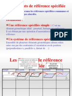 Elements de Reference Specifie