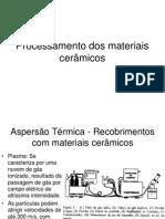 Processamento dos materiais cerâmicos.ppt