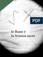 Le rune e La Scienza sacra - Reload