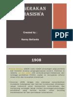 PERGERAKAN MAHASISWA