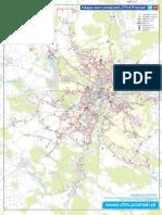 Map of Public Transport in Poznan