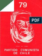 Boletín del Exterior Partido Comunista de Chile Nº79