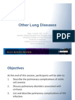 Other Lung Diseases/Pulmonary Board review