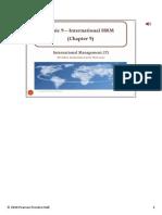 9 Topic 9 International HRM