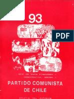 Boletín del Exterior Partido Comunista de Chile Nº93