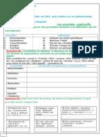 activité de langue peocédé explicatif 2as P1 S1.doc