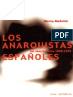 Murray Bookchin - Los anarquistas españoles.epub
