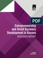 Kosovo Entrepreneurship