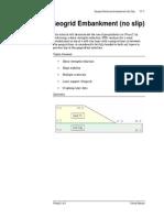 Tutorial 11 Geogrid Embankment (No Slip)