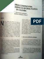 1999-La asamblea constitucional como instrumento de reforma politica en Colombia.pdf