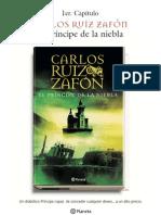 Carlos Ruiz Zafon - El Principe De La Niebla - 1 capitulo