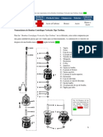 Nomenclatura de Bombas Centrifugas Verticales Tipo Turbina