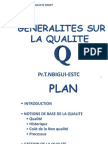Generalites Sur La Qualite