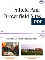 greenfield and brownfield sites ib sl