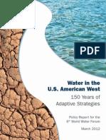 Water in American West