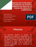 PROCESO DE FILTRACION Y DESINFECCION DE LAS PLANTAS UNPRG.pptx