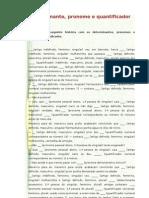 Determinante, pronome e quantificador_7º (tlebs)
