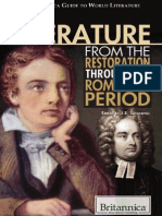 J. e. Luebering-English Literature From the Restoration Through the Romantic Period (the Britannica Guide to World Literature)-Rosen Educational Publishing (2010)