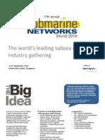 Submarine Networks World 2014 Prospectus Upload