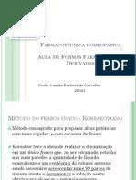 Farmacotécnica homeopática - aula 10.pdf