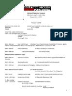 Program of Aug 23 Details