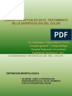 DIVERTICULIS DEL COLON DR CHRISTIAN COLIMA.ppt