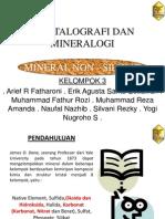 Ppt Mineral Non - Silikat