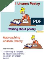 Edexcel Unseen Poetry GCSE English Literature