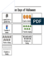 13 Days of Halloween Sequencing
