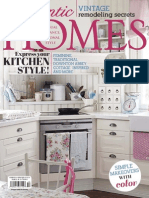 Romantic Homes - October 2014 USA