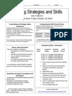 u2w3 reading skills and strategies