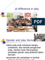 Individual Differences in Play
