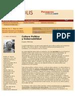 cultura politica y gobernabilidad.doc
