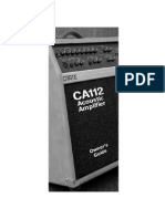Create Ca112 Acoustic Amp