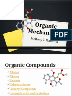 2. Organic Chemistry - Reactions and Mechanisms (1)