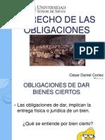 Obligaciones - Clase 2 - obligaciones de dar (1).ppt