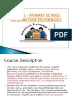 edu 600 Seminar 1-a