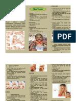 Leaflet Pijat Bayi