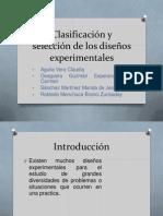 Clasificación y selección de los diseños experimentales.pptx