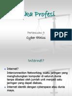 TIM EP Ke-9 Cyber Ethics (kel 6).ppt