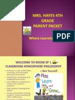 classroom parent collaboration educ 438