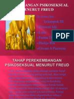 Tahap Perekembangan Psikoseksual Menurut Freud
