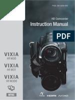 Canon HFM30 HFM31 HFM300 Instruction Manual