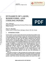 Dynamics of lakes, reservoirs and cooling ponds