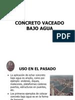 Concreto Bajo el Agua.ppt