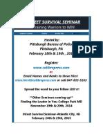 Street Survival Seminar