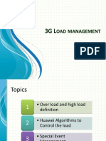 3G Load Management